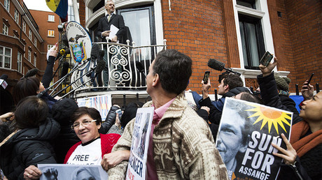 FILE PHOTO: Julian Assange © Jack Taylor
