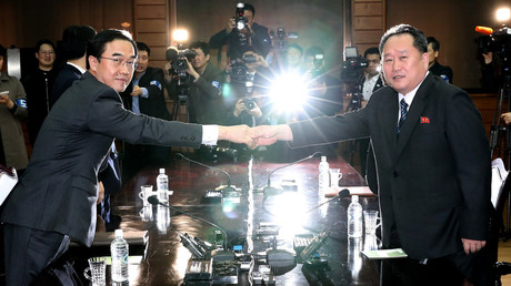 North & South Korea set April 27 as date for leaders' summit in breakthrough move