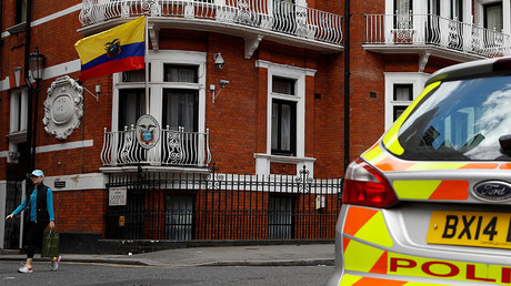 Ecuador cut Assange's internet over Catalonia crackdown tweet – source close to WikiLeaks