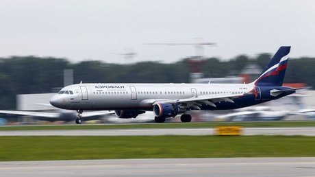 Russian Embassy in UK files official explanation demand after Aeroflot plane search
