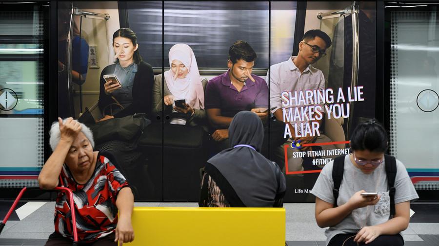 Critics lash out as Malaysia outlaws 'fake news'
