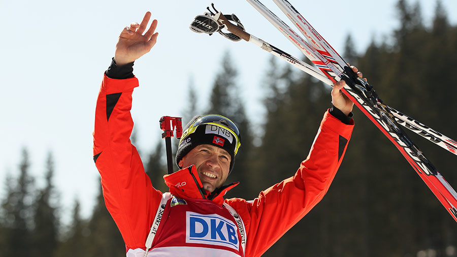 Biathlon legend Bjørndalen confirms retirement