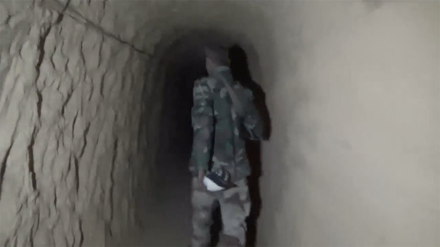 Syrian Army discovers tunnel network, underground hospitals in liberated E. Ghouta (VIDEO)