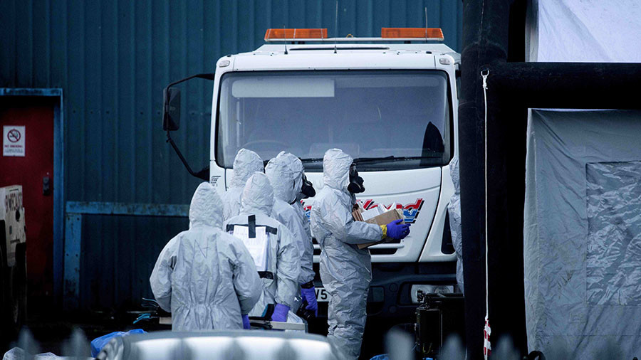 Top UK security officials confident a Russian lab made Salisbury nerve agent
