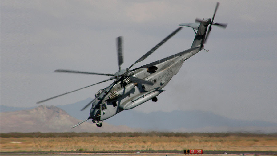 4 crew 'presumed dead' after largest US helicopter CH-53E crashes on training mission in California