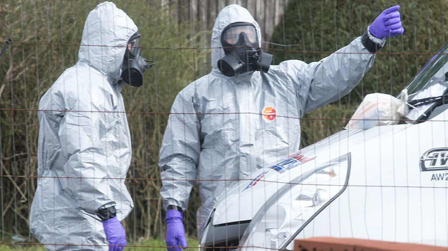 UK Foreign Office denies claiming nerve agent from Russia, despite tweet and Boris Johnson interview