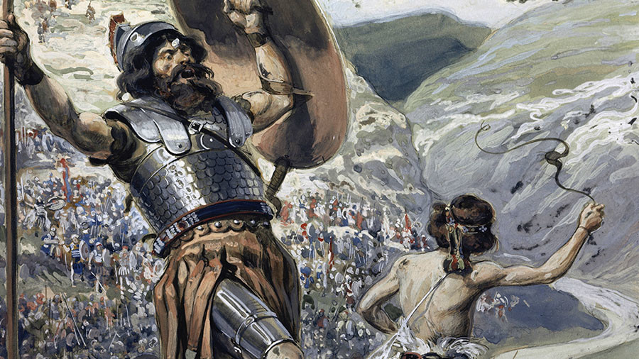 Moscow to West: Remember fate of Goliath when trying to cling to power