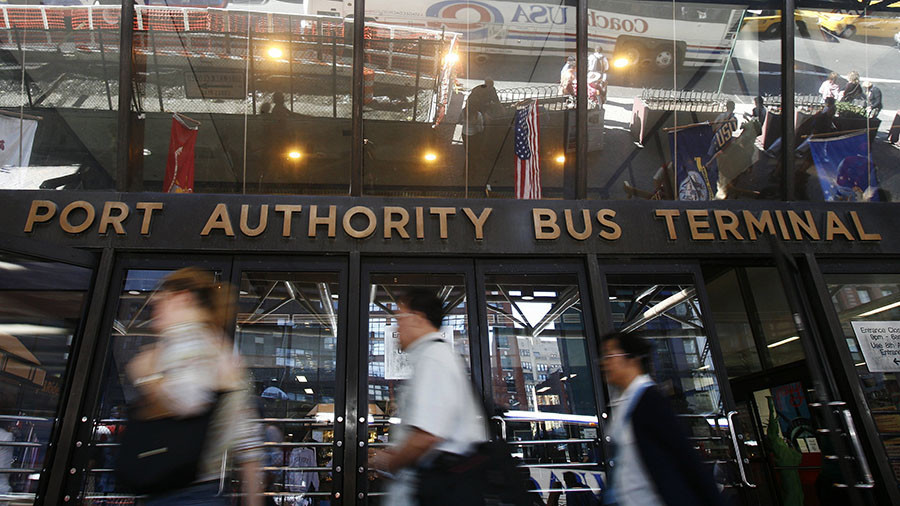 White powder scare closes entrance to Port Authority Bus Terminal