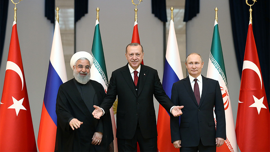 Will Syria peace trio succeed given all three have different agendas?