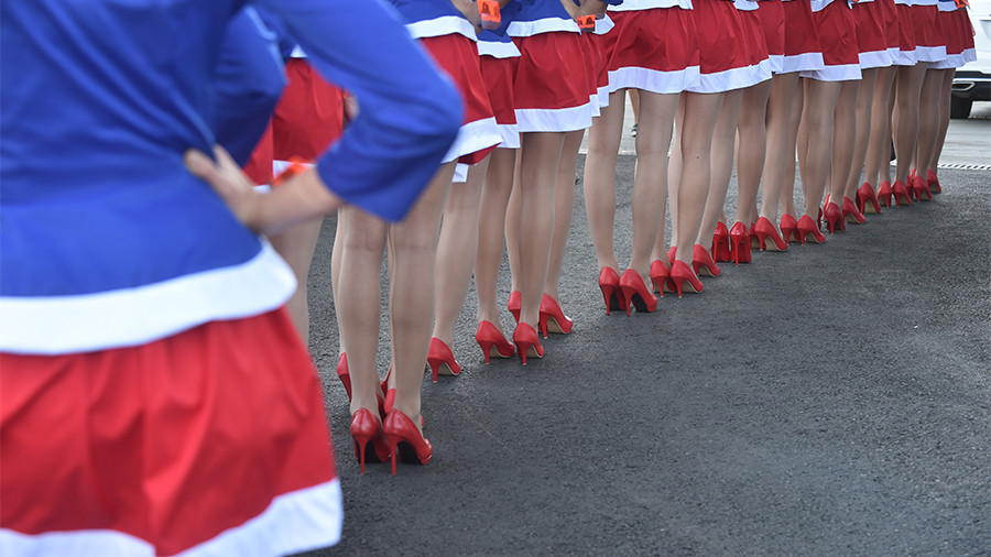 Backseat for feminism? Russia looks to revive F1 'grid girls' for Sochi grand prix
