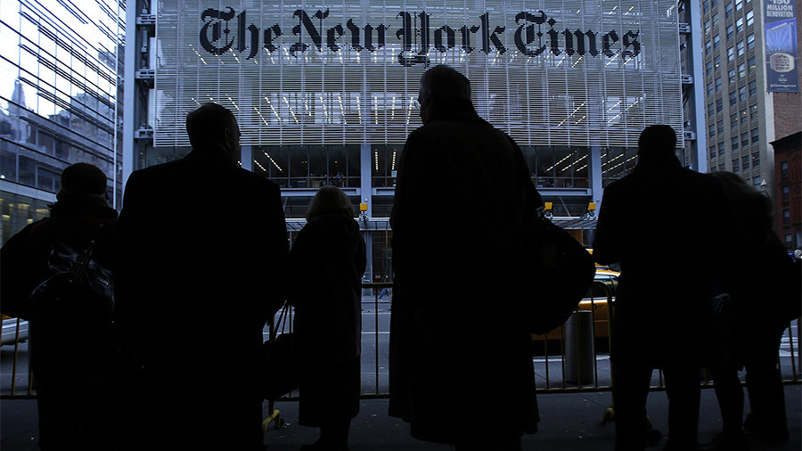 'Is Putin a CIA agent?' NYT's 'dumbest paragraphs ever printed' ridiculed online