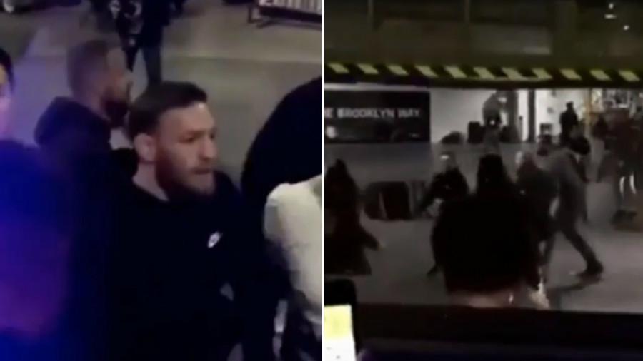 კონორ მაკგრეგორი გადაირია - ირლანდიელმა ავტობუსი დალეწა და ახლა დაკავებულია [VIDEO]