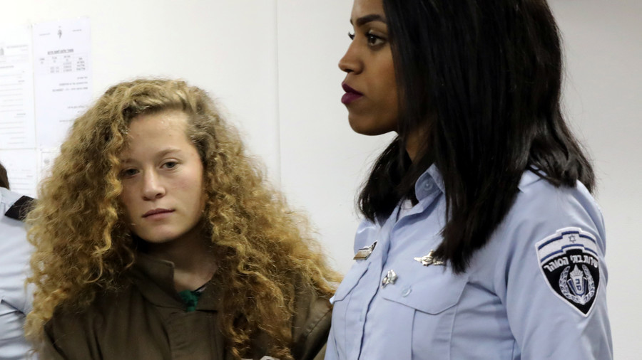 Palestinian teen Ahed Tamimi 'sexually harassed' by Israeli interrogator, lawyer says