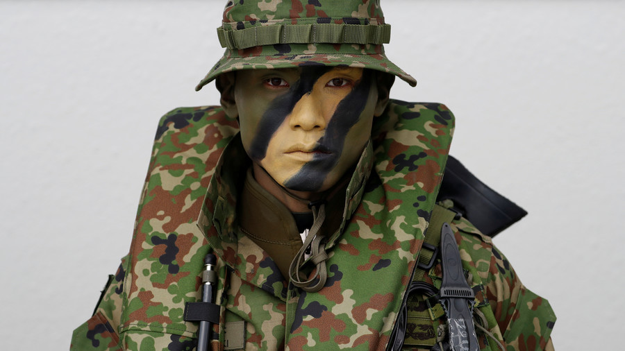Japan activates first marines since WW2 (VIDEO)