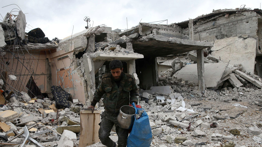 US holds Russia 'ultimately responsible' amid reports of dozens gassed in Syria's Douma
