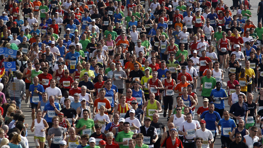 Knife attack at Berlin half-marathon foiled by police 4 detained – reports