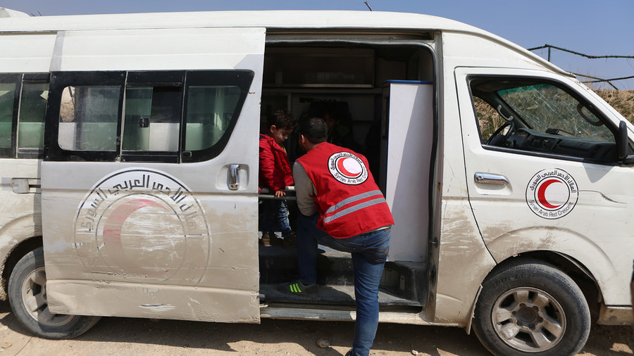 Red Crescent says it found no trace of 'Ghouta chem attack' used by US to blame Damascus & Moscow