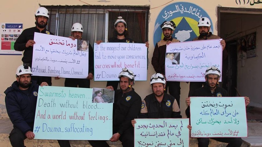 White Helmets: World's most photogenic rescuers who 'don't care' about civilians?