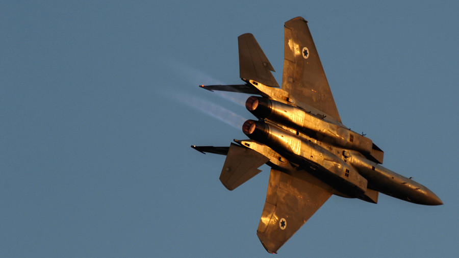 Syria: Military Base Strike Was By Israeli Warplanes