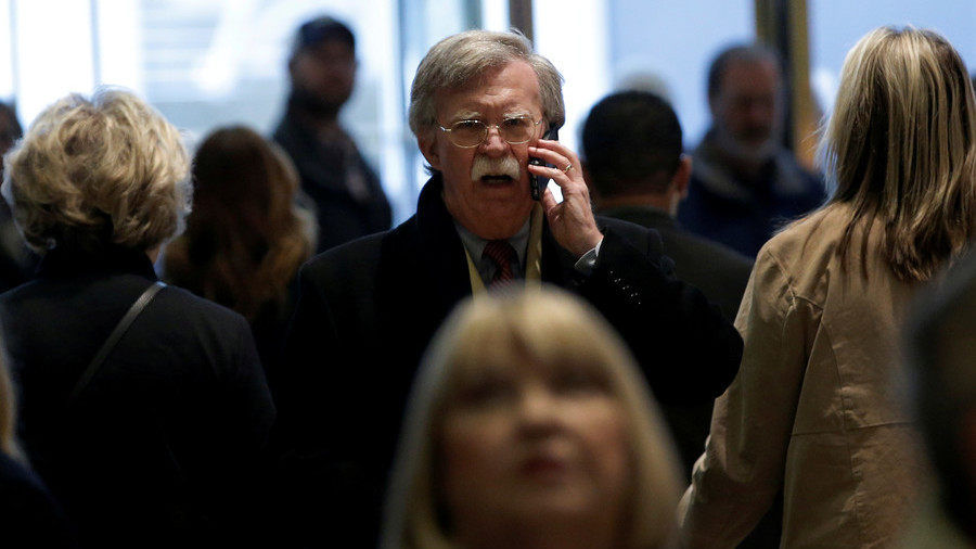 Enter Bolton: Trump's new security adviser comes with chemical casus belli on hand