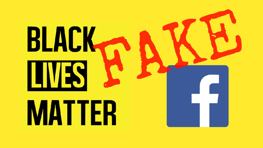 Facebook's Biggest Black Lives Matter Page Is A Hoax