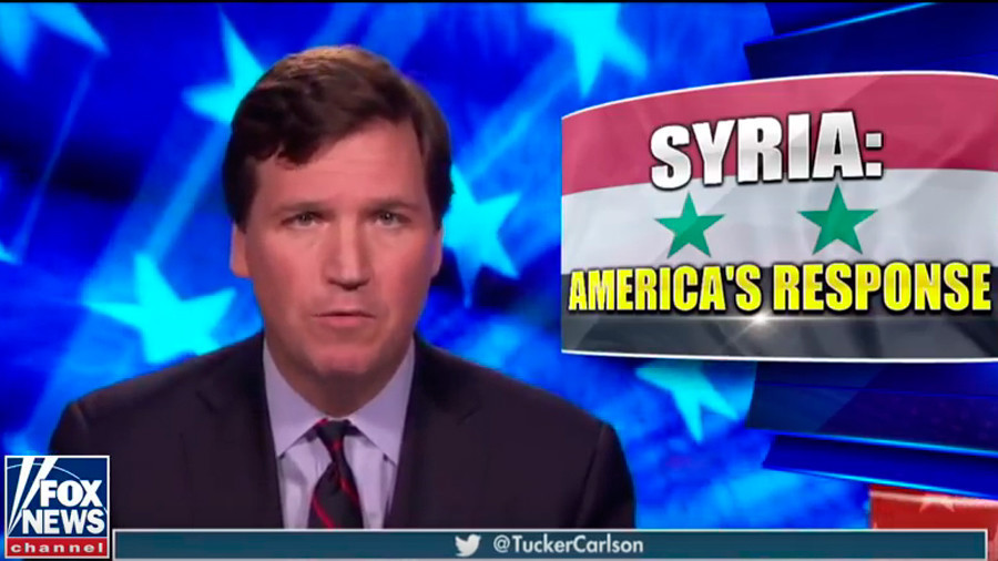 Tucker Carlson slams US foreign policy in no-holds-barred monologue on Syria, social media explodes