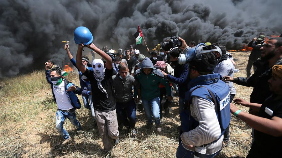 Palestinian rapper films music video at Gaza border, dedicates it to friend killed by IDF (VIDEO)