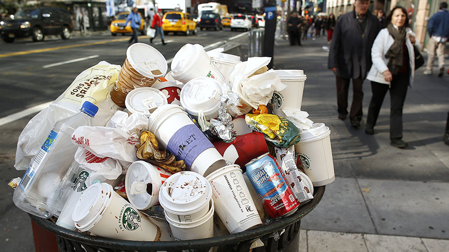 China tells America to take its garbage back