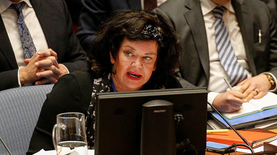 'Marx would be turning in his grave' – Britain's UN envoy appears to think she's debating Soviets
