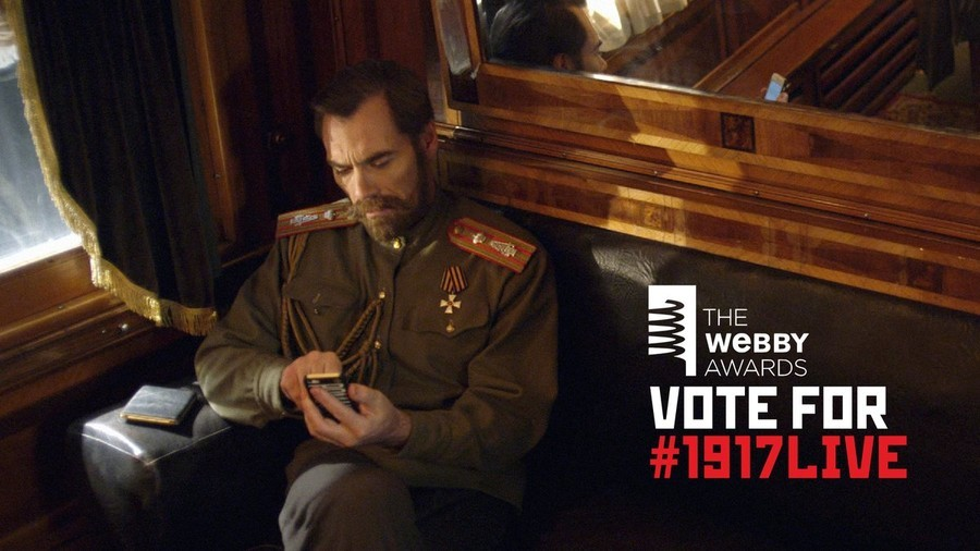 Have you voted for #1917LIVE yet? Help our educational project win a Webby