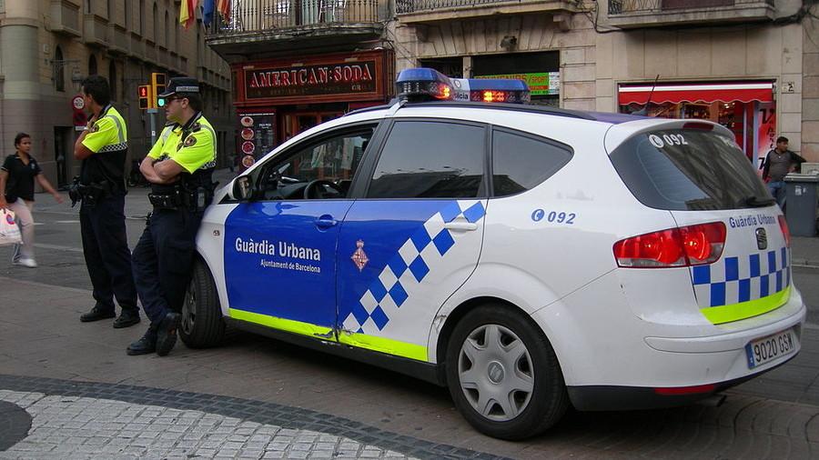 Shocking machete & nunchuck duel leaves trail of blood on Barcelona street (VIDEO)