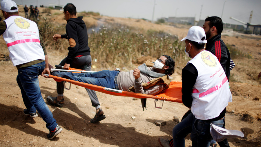 1 dead, more than 150 injured as IDF fires on Palestinians at #GreatReturnMarch (VIDEOS)