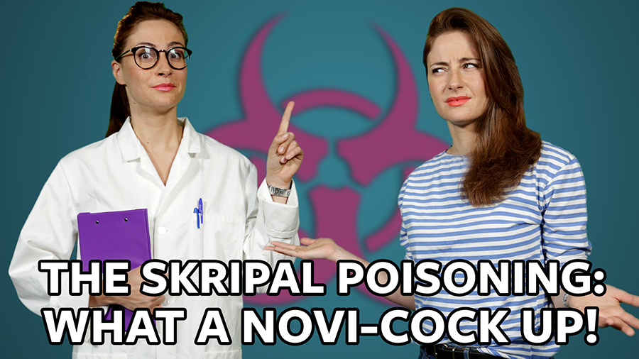 #ICYMI: The Skripals were poisoned and the guinea pigs died. What a Novi-cock up! (VIDEO)