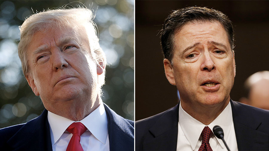 'A weak and untruthful slime ball': Trump tears into Comey for prostitute comment