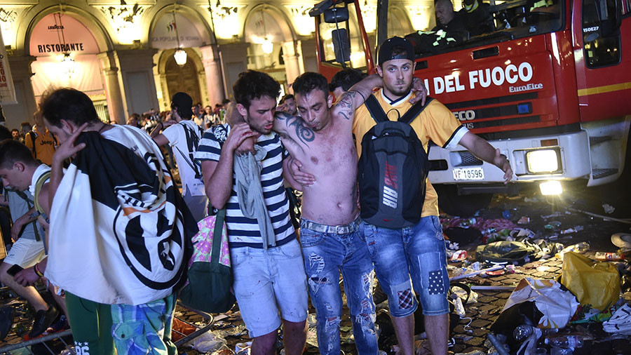 Thieves used pepper spray to stoke panic and rob in stampede in Italy during UCL final