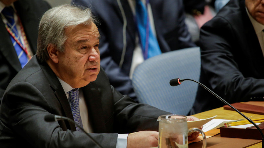 Russia Wants UN Chief At Meeting On US Threats