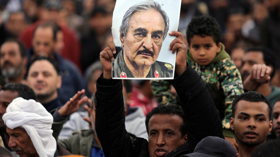 Libya's military strongman Haftar treated in Paris hospital