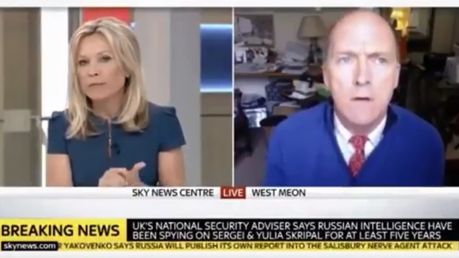 sky news cuts off top british general after he asks why would syria