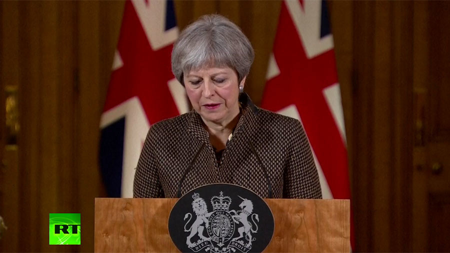 British PM May says it was 'right and legal' to take military action in Syria