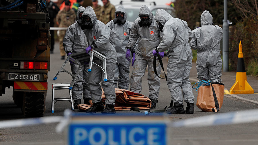 Lavrov: Swiss lab says 'BZ toxin' used in Salisbury, not produced in Russia, was in US & UK service