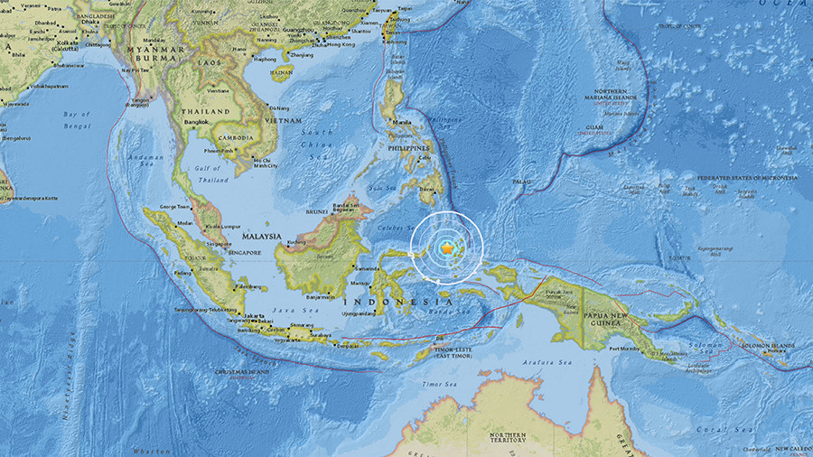 Magnitude 5.9 earthquake strikes offshore Indonesia - USGS