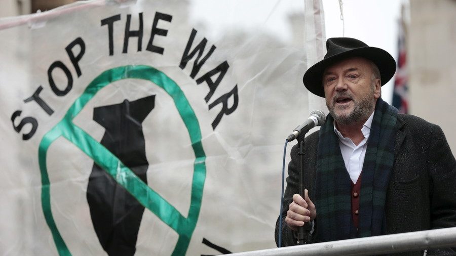'No war in history has begun with so little support' – Galloway slams PM over Syria (VIDEO)
