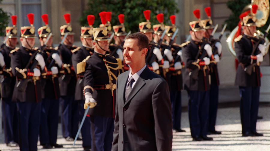 Paris to revoke Assad's Legion of Honor, after bombing 'tyrant' holding France's highest decoration