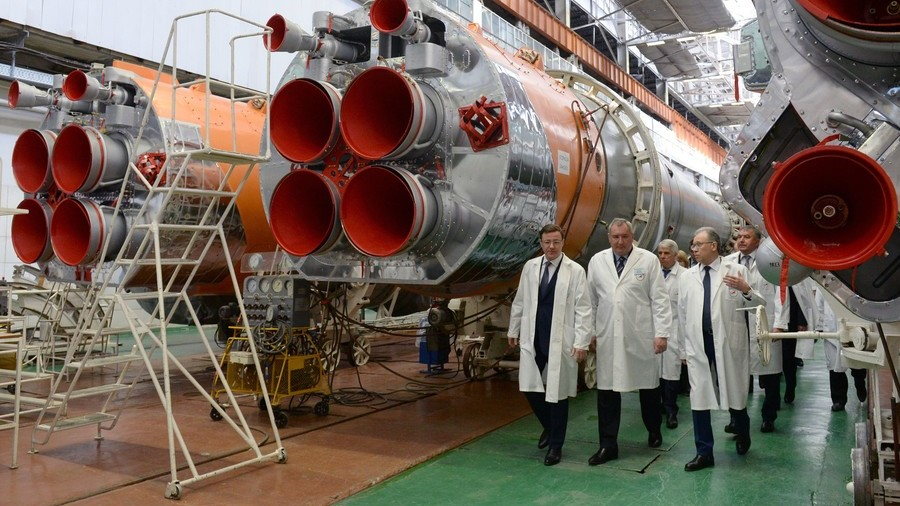 Revenue from US sales used to develop cutting-edge rocket engines, says Russian weapons chief