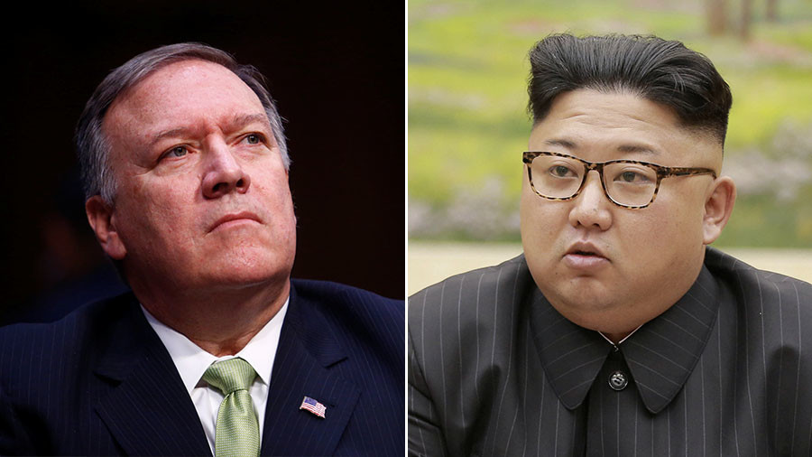 Mike Pompeo had secret meeting with Kim Jong-un