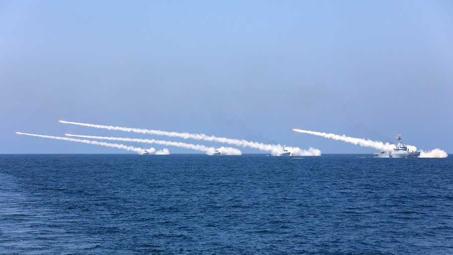 China holds live-fire drills in Taiwan Strait