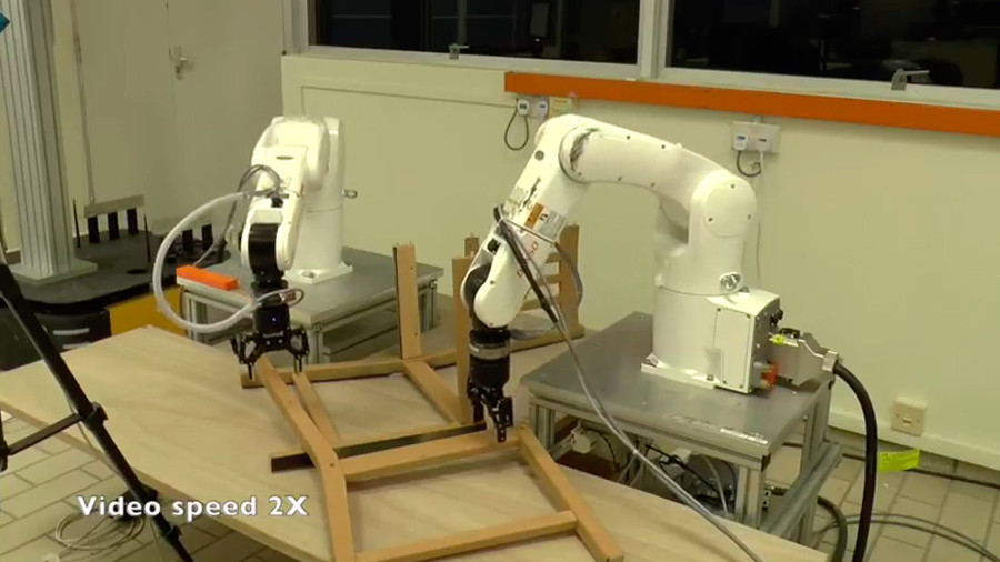 Flat pack hero: Robot assembles IKEA chair in less than 9 minutes (VIDEO)