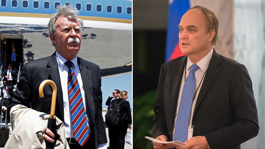 Russian ambassador meets new US national security adviser Bolton