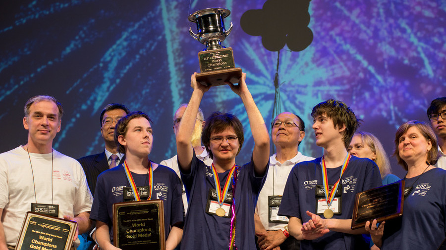 Russian students ace world programming championship, take 1st place for 7th year in row