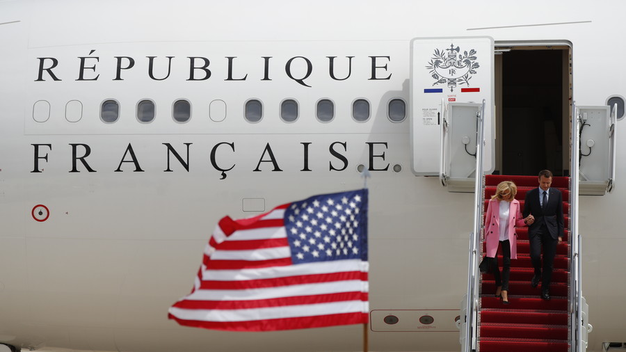 Macron in Washington DC to walk the line between criticism and adulation with Trump
